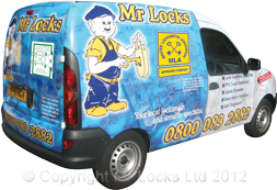 Mr Locks Van